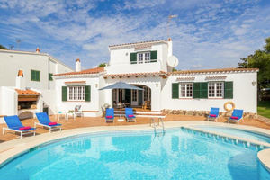 Detached villa in Cala Galdana resort, Menorca