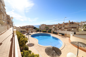 2 bedroom apartment with stunning sea views in Aquamarina, Cabo Roig