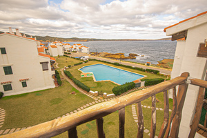 Lovely 2 bedroom apartment with sea views in Playa de Fornells, Menorca