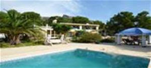 Large country villa with 4 properties in Orcheta, near Benidorm