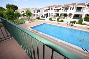 Attractive first floor apartment in Son Parc, Menorca