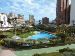 2 bedroom, 1 bathroom apartment 200 metres to Cala De Finestrat beach