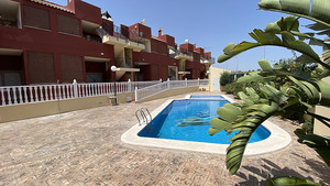 2 bedroom 2 bathroom furnished ground floor apartment in Torremendo