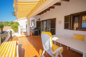 2 bedroom apartment with wonderful sea views in Son Bou, Menorca