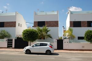 3 bedroom recently built duplex with private pool for resale in Lo Pagan