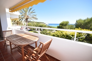 Perfect front line 3 bedroom apartment in Santo Tomas, Menorca