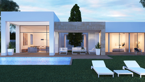 Contemporary villa in Javea