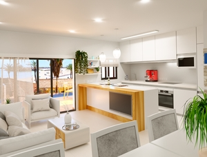 newbuild apartment with 2 bedrooms for sale in Torrevieja