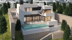 SPECIAL RESIDENCE WITH UNIQUE 360° VIEWS ACROSS THE BAY OF ALTEA
