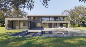 Contemporary new villa with license in place