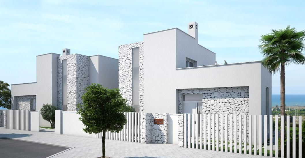 Ultra modern villas in guardamar del segura for Ultra modern homes for sale