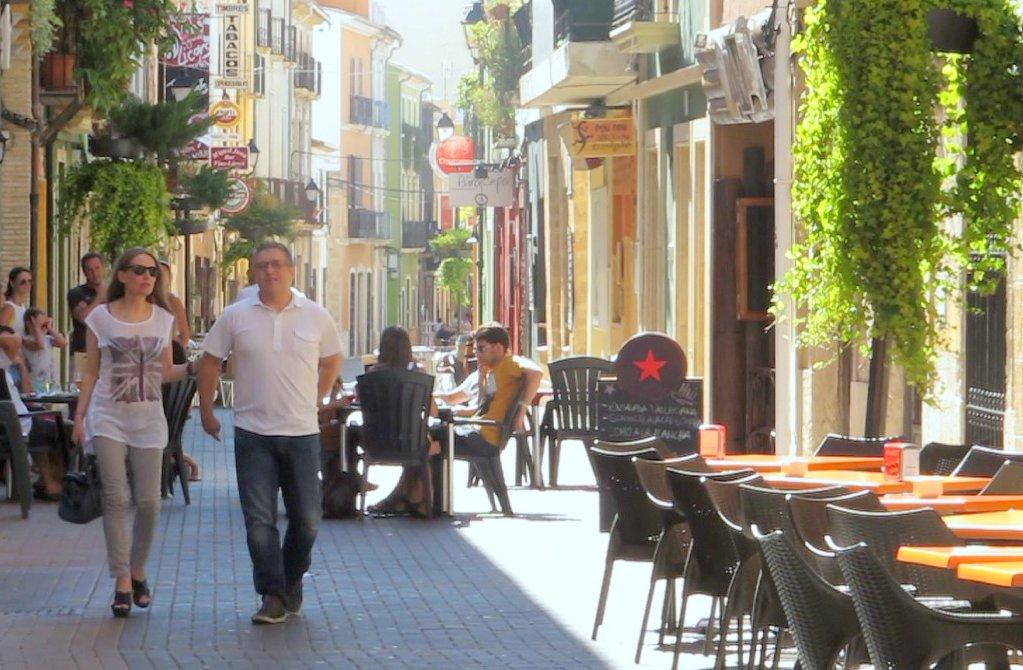 Denia old town