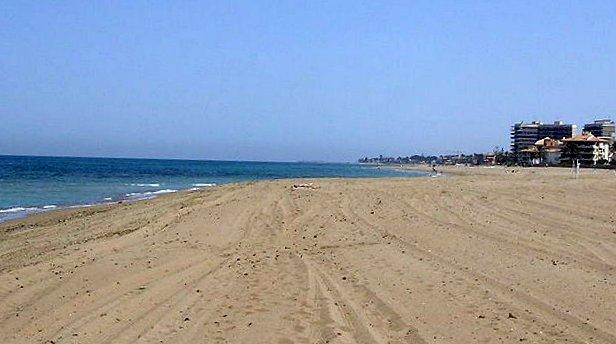Denia Las Marinas beach