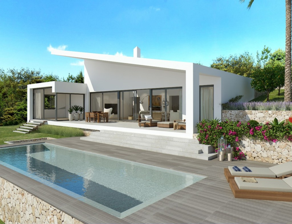 Modern new build villa in Cala Vinyes