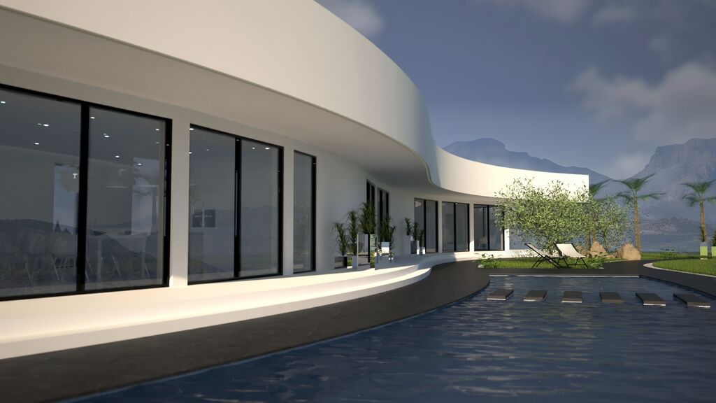 3 bedroom Villa for sale in Jalon