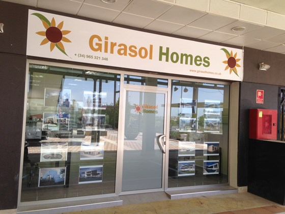 Girasol Homes New Office