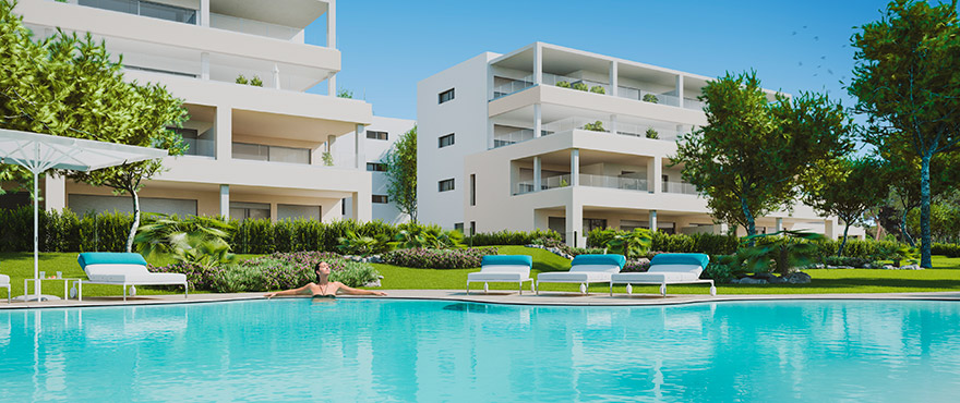 SPACIOUS APARTMENTS FOR SALE IN SANTA PONSA, CALVIA MALLORCA