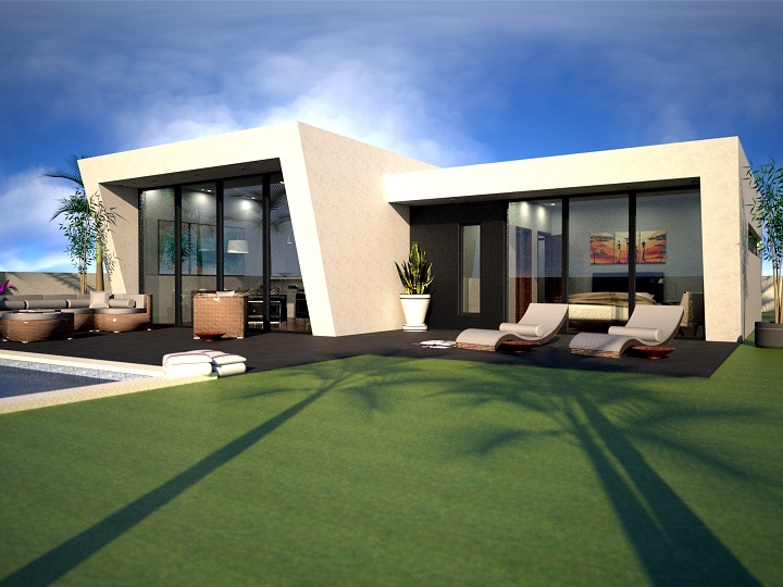 2 bedroom Villa for sale in Sucina