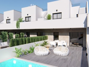 3 bedroom Townhouse for sale in Pilar de la Horadada