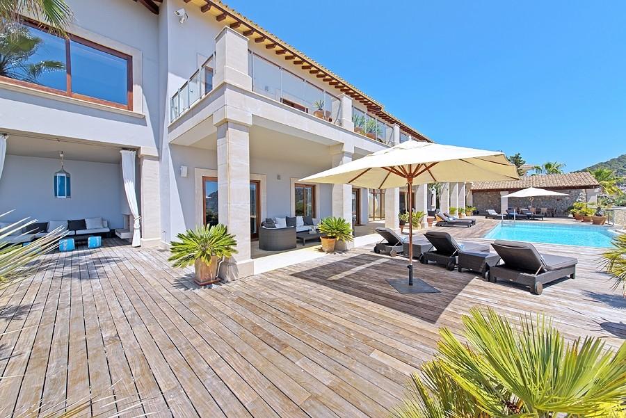 5 bedroom villa for sale, Cala Llamp, Puerto Andratx, Andratx, Mallorca