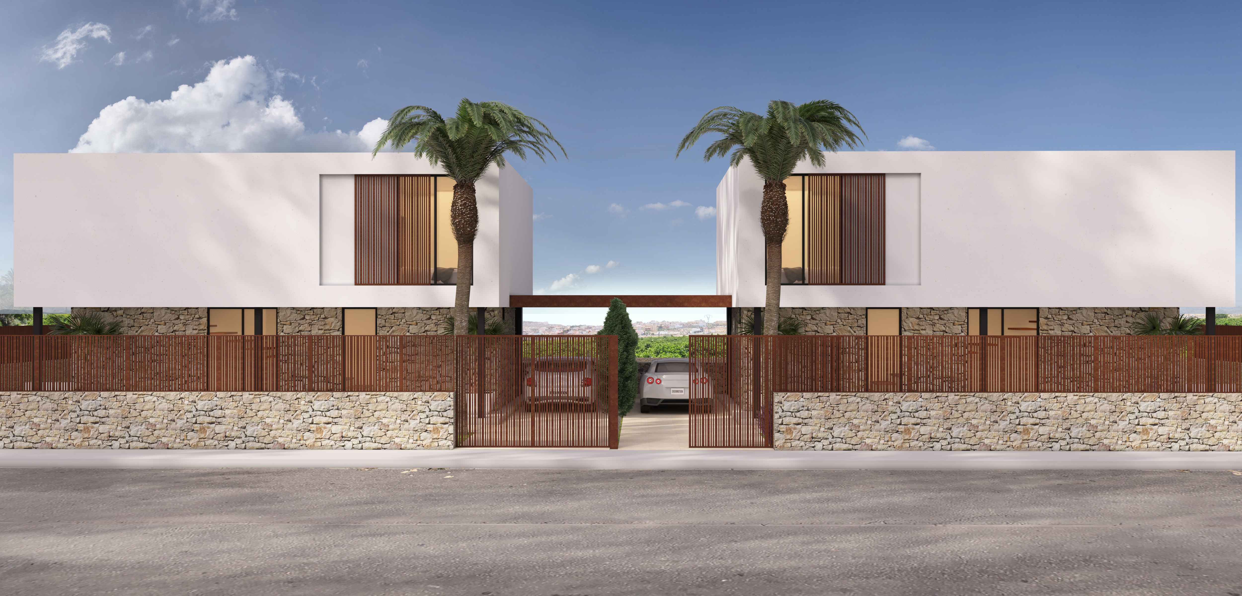 Exclusive villa in Benijofar with 5 bedrooms and 4 bathrooms