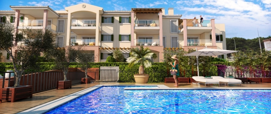 NEW APARTMENTS FOR SALE IN CALA MESQUIDA, CAPDEPERA, MAJORCA