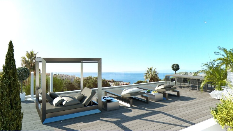 New Designer Villa in Nova Santa Ponsa with sea views