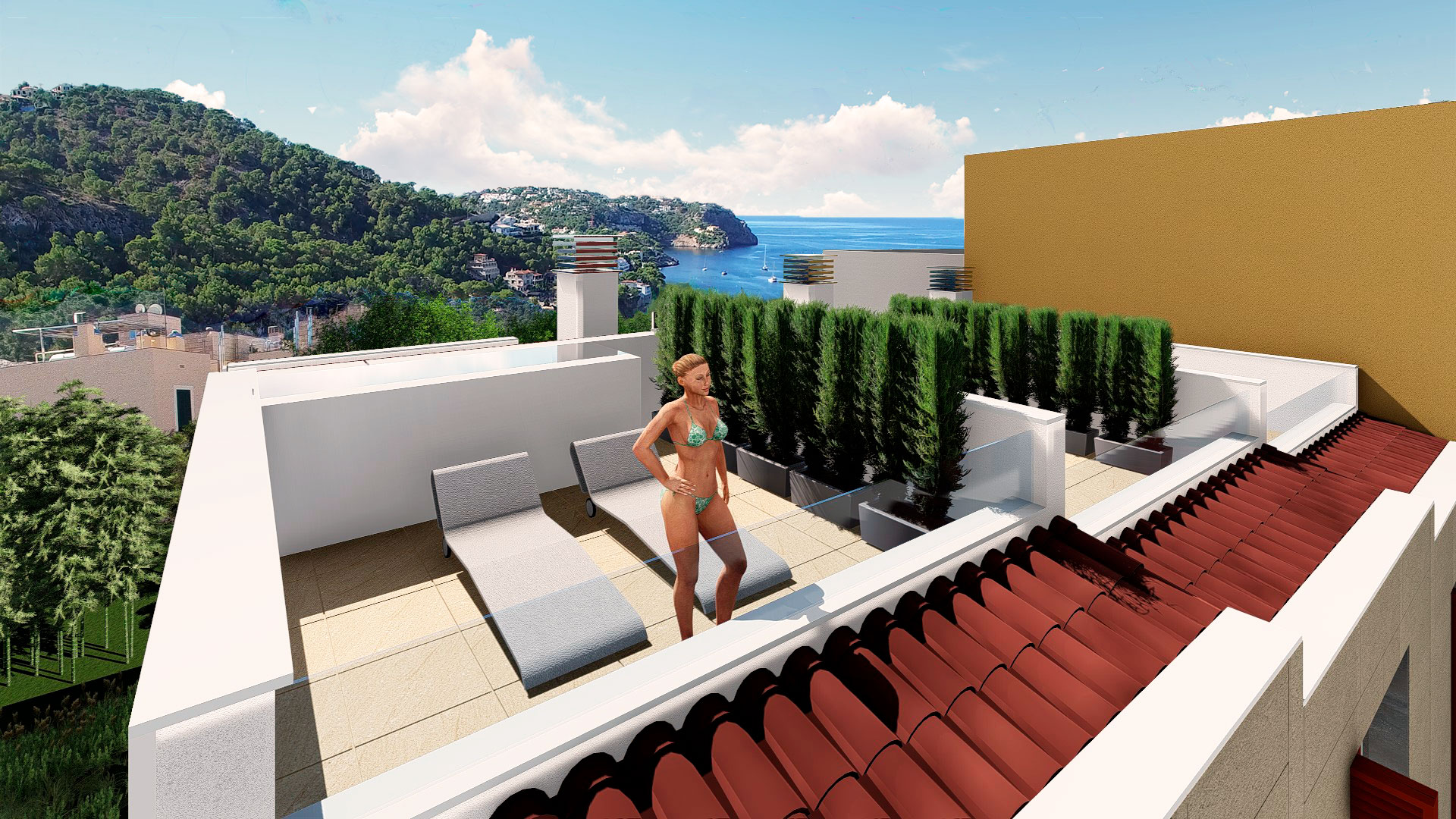 2 bedroom Townhouse for sale in Puerto Andratx