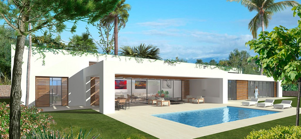 Luxury villa in exclusive location in Sol de Mallorca, close to golf course