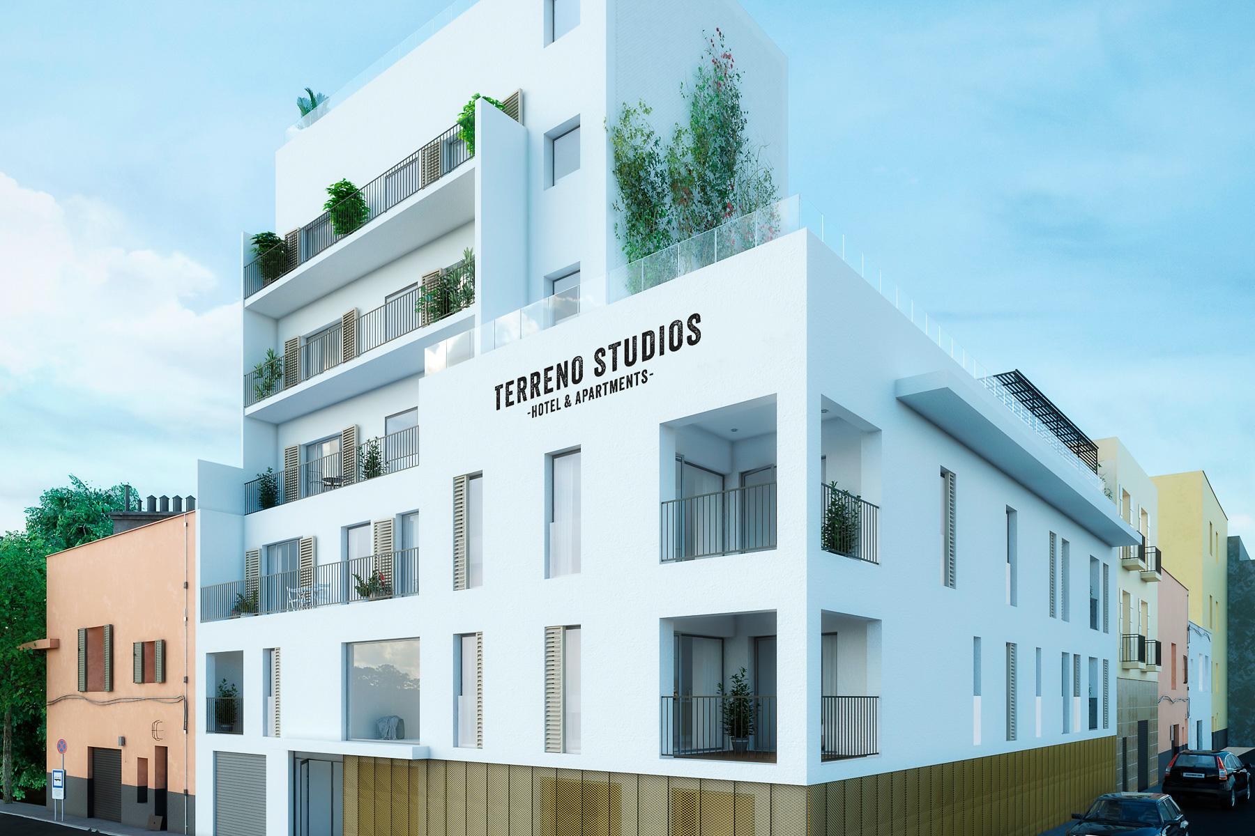 Nieuw 2slpk appartement met zicht op zee in EL Terreno