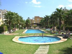 Javea Apartment Pool Area