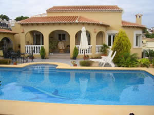 Typical Villa in Moraira