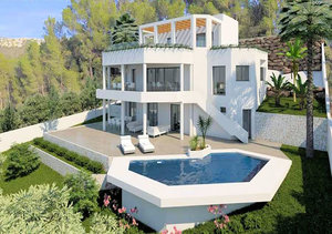 Javea Puerta Fenicia 4 Bedroom Villa for Sale