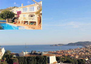 Javea Puchol 6 Bedroom Sea View Villa for Sale with Guest Apartment