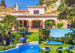 Javea La Barraca Luxury 5 Bedroom Sea View Property for Sale