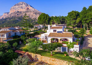 Javea Montgo 4 Bedroom Finca Style Property for Sale