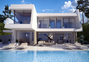 Moraira Sea View New Build Villa for Sale