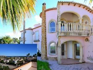 Javea Pinosol 6 Bedroom Sea View Villa for Sale