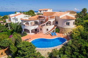 Javea 5 Bedroom Sea View Property Balcon al Mar for Sale