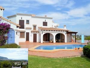 Moraira 7 Bedroom Villa for Sale with Sea Views