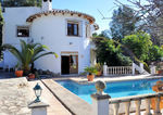 Property for sale in Moraira, Sabatera with guest apartment