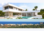 Javea 4 Bedroom Sea View New Build Property for Sale