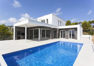 Moraira Modern 3 Bedroom Sea View New Build Villa for Sale