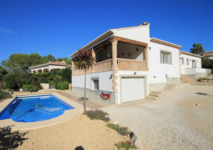 Javea Cap Marti Single Level Property for Sale with Double Garage