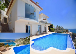 Javea Modern Sea View Villa for Sale close to Ambolo Beach