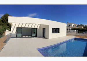Javea Costa Nova Modern 3 Bedroom New Build Villa for Sale