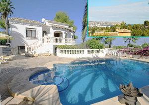 Javea 4 Bedroom Sea View Villa in Entrepinos