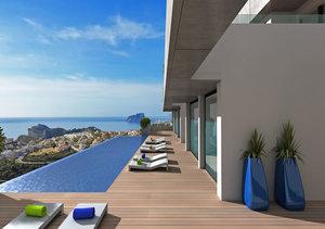 Cumbre del Sol Benitachell 2 Bedroom Sea View Apartment for Sale