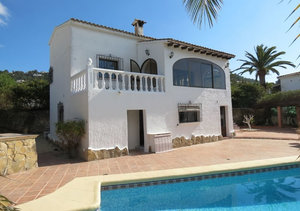 Moraira 4 Bedroom Villa for Sale