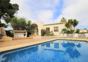 Javea Balcon al Mar 4 Bedroom Sea View Villa for Sale
